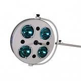 Светильник хирургический L734-II-четырехрефлекторный передвижной, фото 4