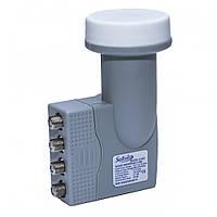 QUAD Satcom S-403 конвертер для спутниковой антенны на 4 выхода