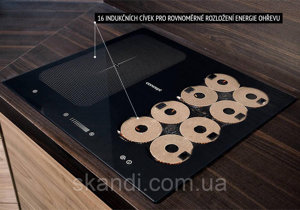 Индукционная плита Concept  Premium (Оригинал) Чехия IDV-5660 Flexi