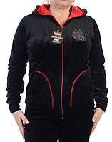 Велюровый женский спортивный костюм K111-2