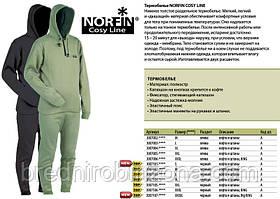 Термобілизна Norfin Cosy Line (XL/56-58) колір: чорний,олива Норфин