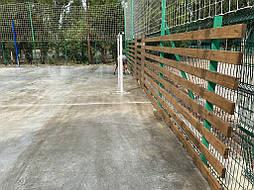 Бесшовное покрытие для спортивной площадки г.Херсон, школа № 41 3