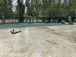 Бесшовное покрытие для спортивной площадки г.Херсон, школа № 41 2