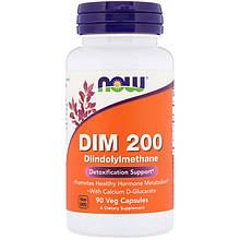 """Дииндолилметан NOW Foods """"DIM-200"""" поддержка репродуктивного здоровья (90 капсул)"""