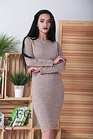 ЖІноче пряме ангорове плаття ,7 кольорів.Р-ри 42-54, фото 1