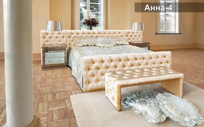 Кровать «Анна-4»180х200