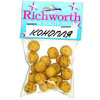 "Бойлы Richworth Euro Baits ""HEMP""(конопля)"