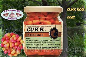 Кукуруза в банке Cukk крашенная - garlic (чеснок)