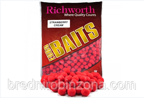 "Бойлы Richworth Euro Baits ""STRAWBERRY CREAM""(клубничный крем) ( диаметр 14 мм)"