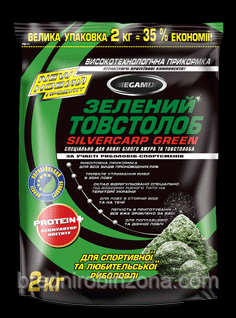 Прикормка Megamix зеленый толстолобик