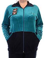 Велюровый женский спортивный костюм K109-2