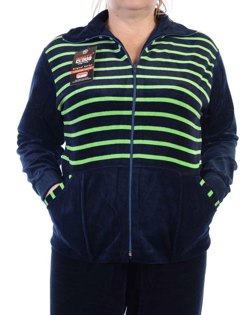 Велюровый спортивный костюм K102-6