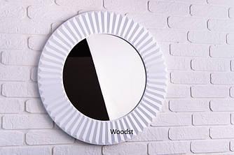 Зеркало настенное Copenhagen белое