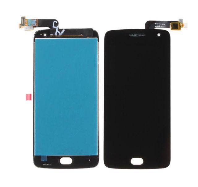 Дисплей для Motorola XT1680 Moto G5 Plus с тачскрином черный Оригинал