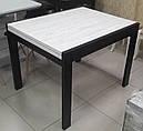 Стол обеденный Слайдер Венге/ АЛЯСКА, 81,5(+81,5)*67см, фото 4