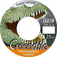 Леска Jaxon Crocodile Fluorocarbon 25м 0,20мм