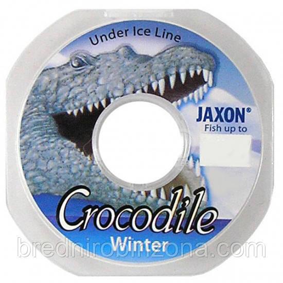 Леска Jaxon Crocodile Winter 50м 0,14мм