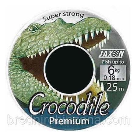 Леска Jaxon Crocodile Premium 25м 0,10мм