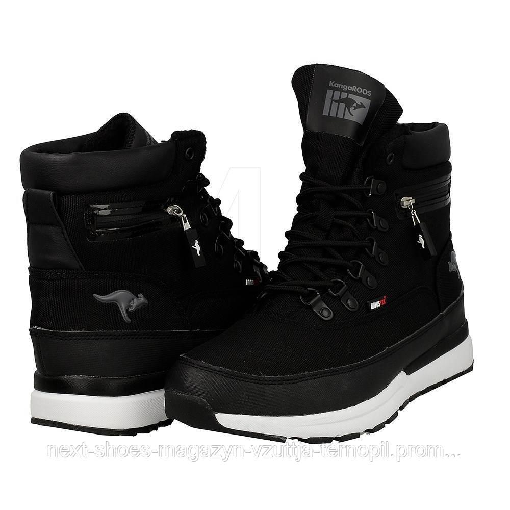 Жіночі черевики KangaRoos Woodhollow Light 471830500 (ЧОРНІ)
