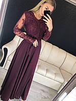 Красивое вечернее платье длинное в пол 2019