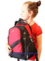 Подростковый рюкзак swissgear 8815М -USB & AUX--РАЗНЫЕ ЦВЕТА-