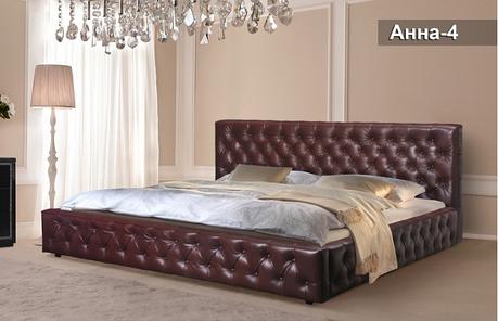 Кровать «Анна-4»200х200, фото 2