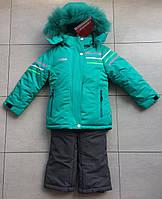 Зимний детский комбинезон раздельный на девочку 92 размер reime в розницу, фото 1