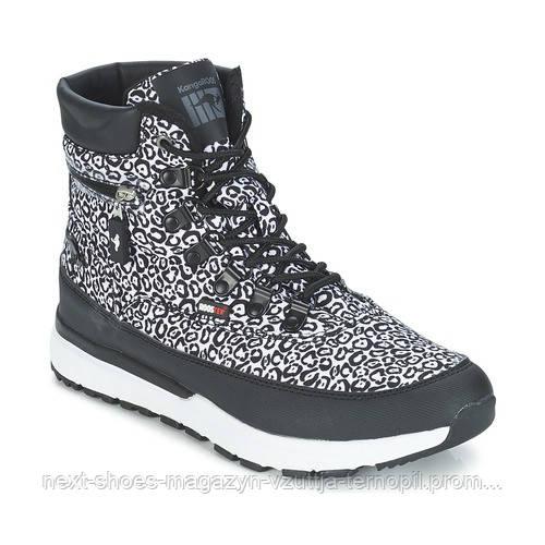 Жіночі черевики KangaRoos Woodhollow Light 471830500 (Чорний / сірий)