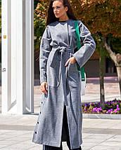Женское кашемировое длинное пальто (Мириам jd), фото 3