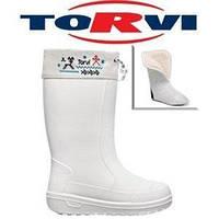 Чоботи жіночі зимові ЕВА TORVI ОНЕГА t -40°C білі (37)
