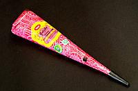 Новинка!!! Розовая хна для мехенди (Био тату) Golecha в конусе, фото 1