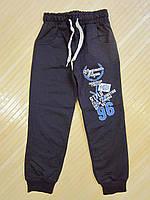 Штаны спортивные на мальчика р.8-9,11 лет.Т-синие.