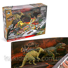 Трек ( 37дет), динозаври 2шт