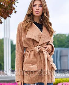 Женское короткое кашемировое пальто (Доминикаjd)