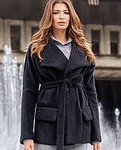 Женское короткое кашемировое пальто (Доминика jd), фото 3