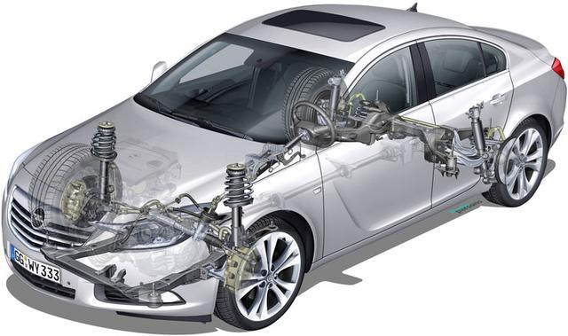 Детали подвески Opel Insignia