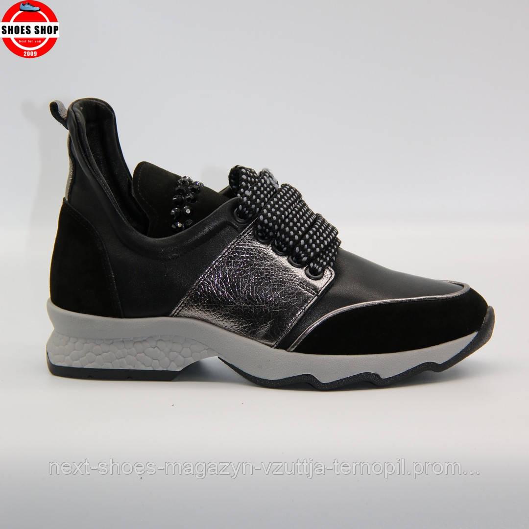 Жіночі чоботи-кросівки чорного кольору Rizzano (Турція) Дуже лагкі та таплі. Стиль - Олівія Палермо