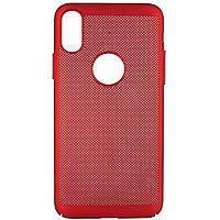 "Ультратонкий дышащий чехол Grid case для iPhone X (5.8"") / XS (5.8"")"
