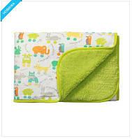 Одеяло для новорожденного из микрофибры двустороннее BabyOno