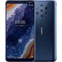 Закаленное защитное 5D стекло ПОЛНАЯ ПРОКЛЕЙКА (на весь экран) для Nokia 9  (выбор цвета)