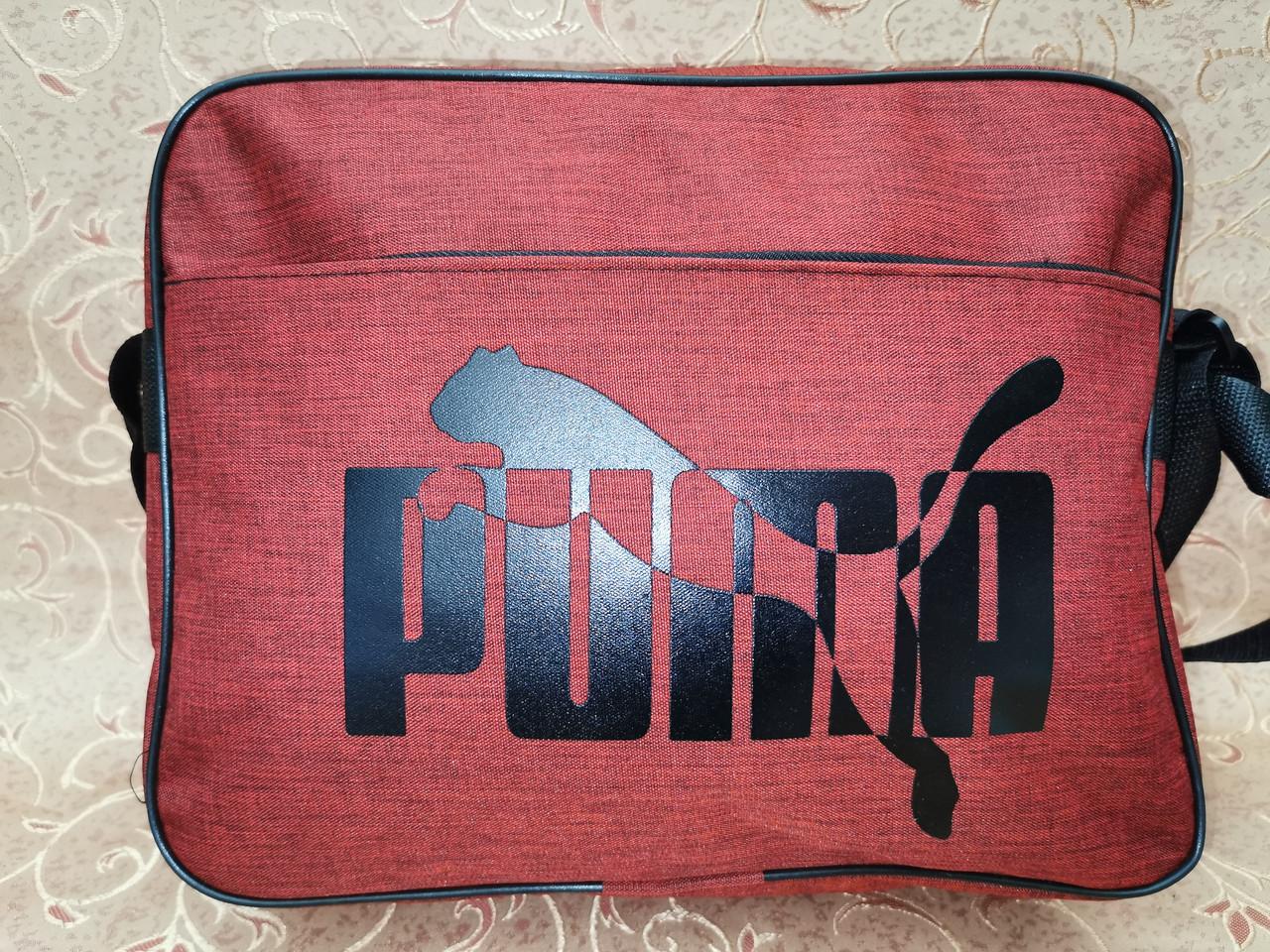 Сумка планшет на плечо puma мессенджер сумка для через плечо только ОПТ