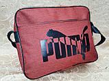 Сумка планшет на плечо puma мессенджер сумка для через плечо только ОПТ, фото 3