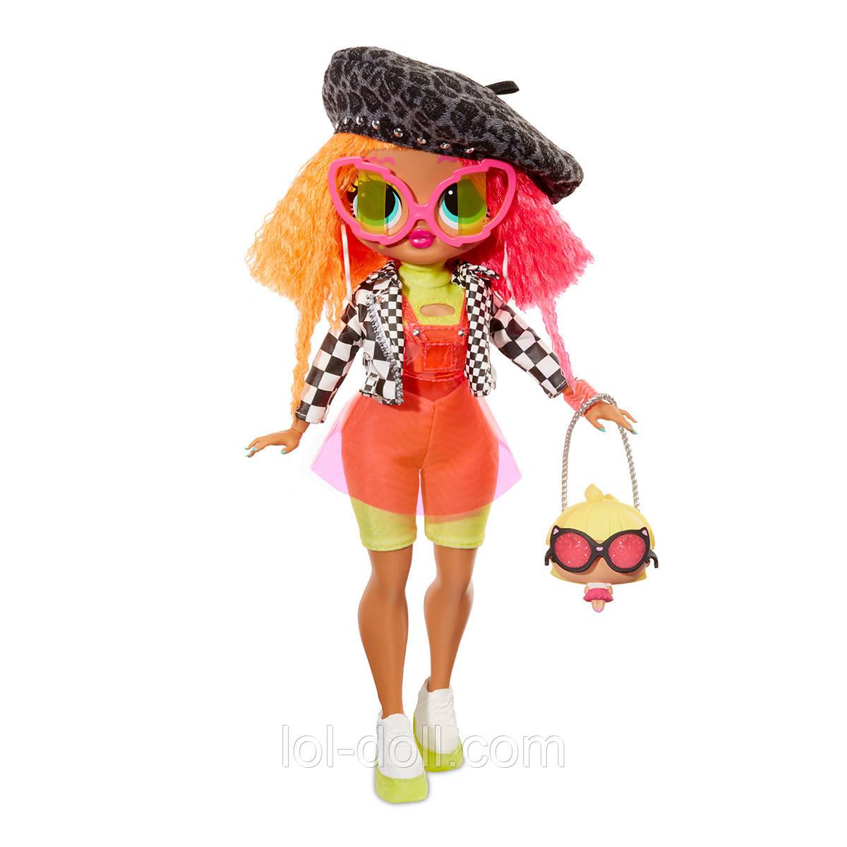 """""""O.M.G."""" - ЛЕДИ-НЕОН (с аксессуарами) Neonlicious Игровой набор с куклой L.O.L. SURPRISE! серии"""