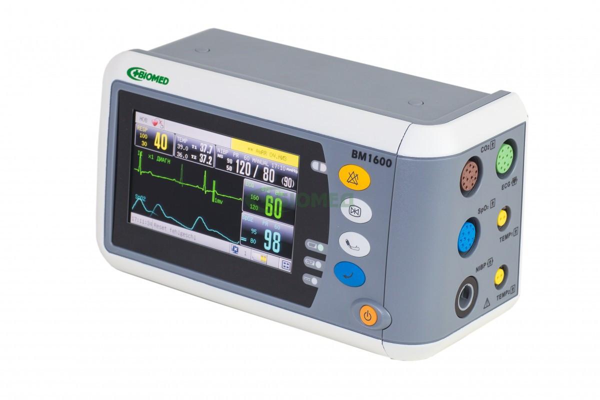 Монітор пацієнта ВМ 1600 + Капнографії