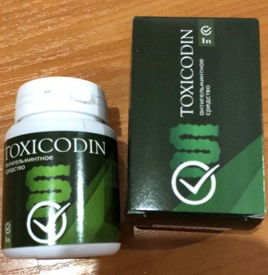 Toxicodin - Антигельмінтну засіб (Токсикодин)