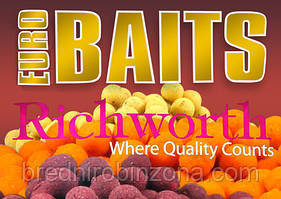 Бойлы Richworth Euro 14mm 1kg Blackcurrant