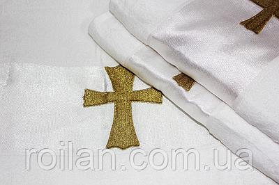 Крижма для хрещення турецька Золотий хрестик
