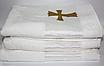 Крыжма для крещения турецкая Золотой крестик, фото 3