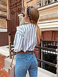 Женская рубашка oversize / лён / Украина 13-203-3, фото 4