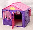 Детский игровой домик пластиковый 120*129*129 см Украина, фото 4